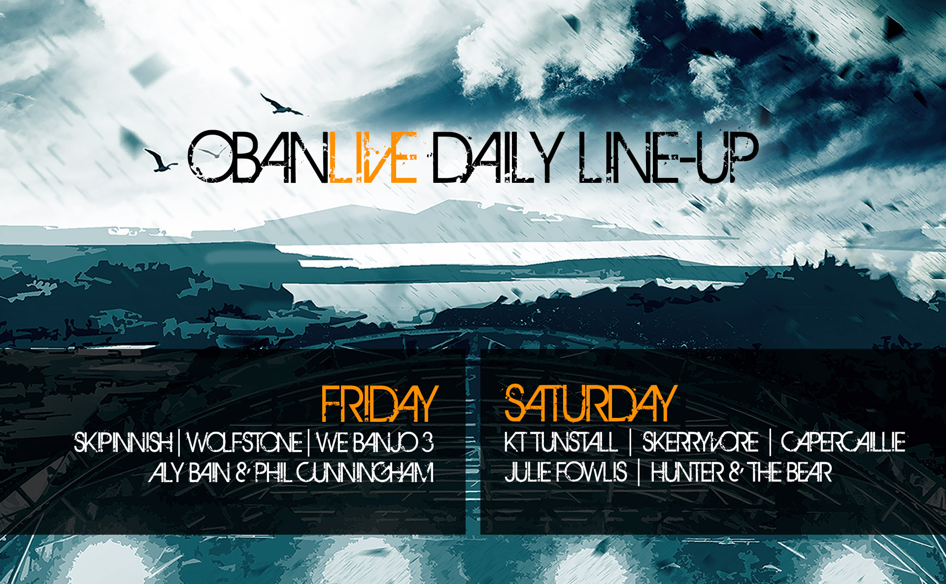 daily line-up