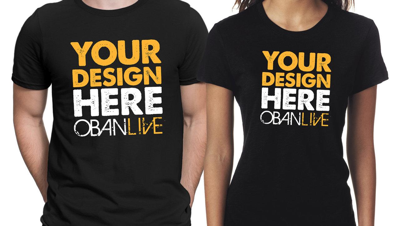 DESIGN THE OFFICIAL OBANLIVE 2018 T-SHIRT! | OBAN LIVE